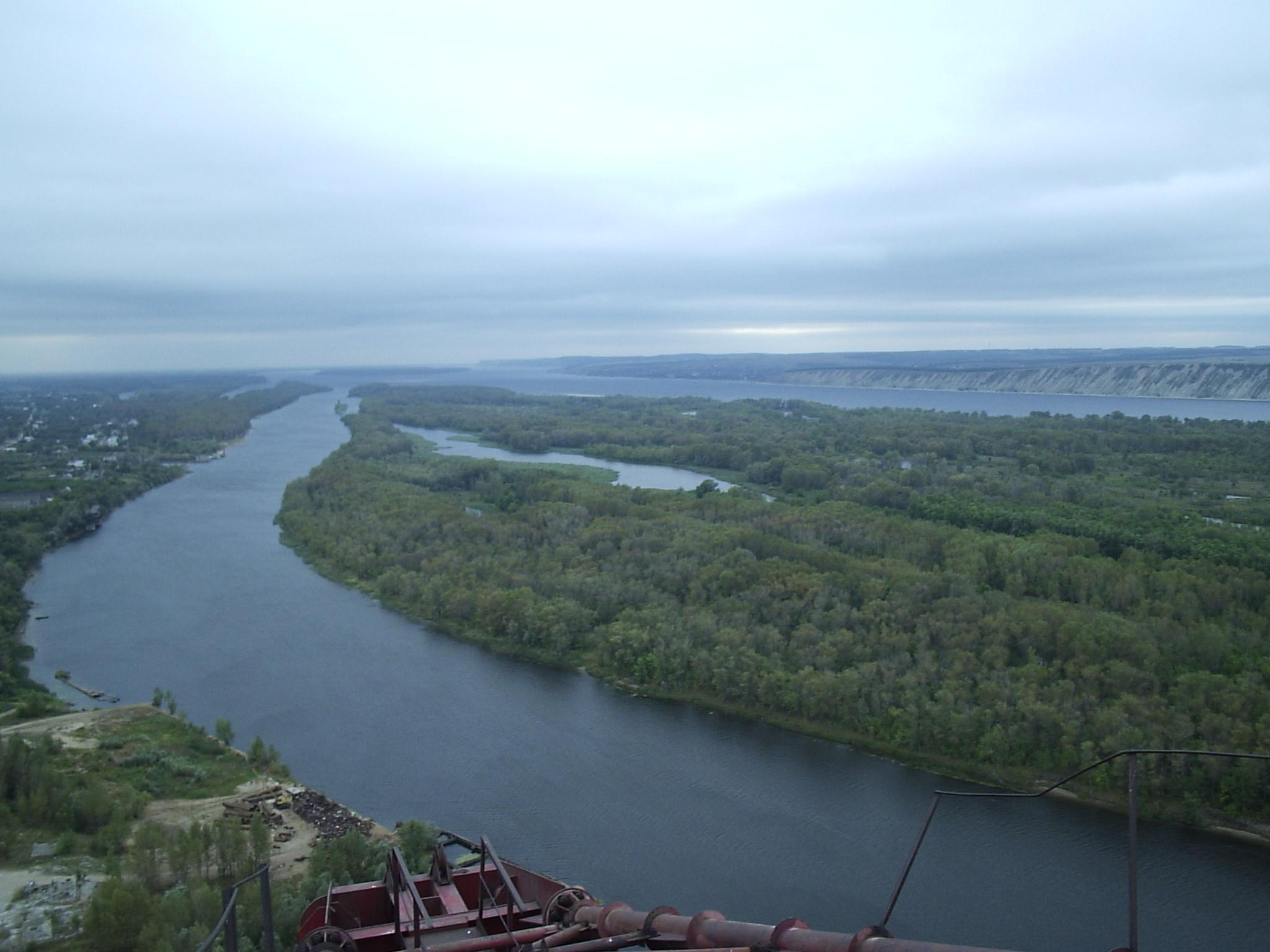 Длина реки волга