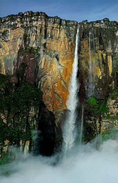 Самый высокий водопад Энджел Фоллс