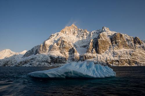 Скорость движения ледников