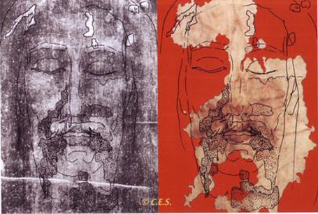 Изображение Христа на Судариуме из Овьедо