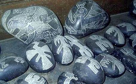 Загадочный артефакт - камни Ика