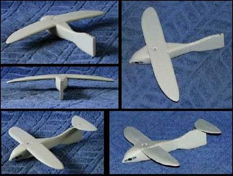 Фигурка птицы-самолета из Саккары