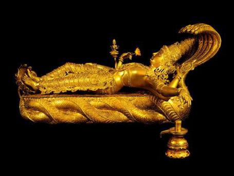 Статуя бога Вишну