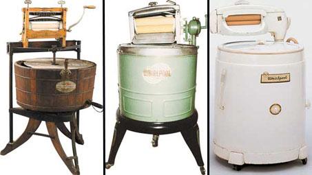 История развития стиральных машин