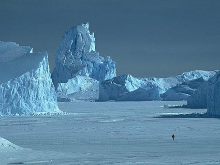 Самое сухое место на Земле - Антарктида