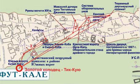 Тайны Крыма - Чуфут-Кале - 9 сакральных мест