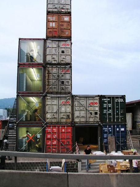 Контейнерный магазин – Freitag's Container Shop