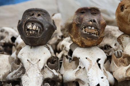 Lome? Voodoo Market - странный магазин-рынок для колдунов