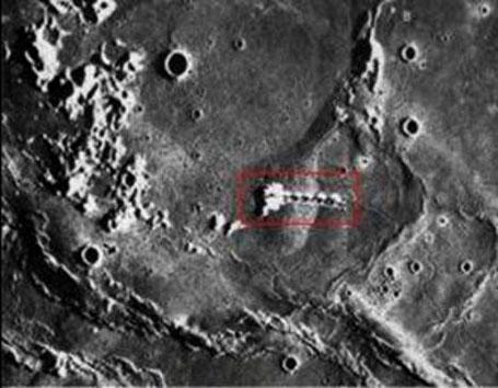 Лунные аномалии или кто строит башни на Луне