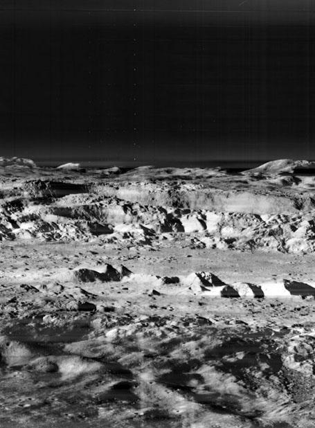 Лунная аномалия - кратер Коперника