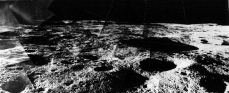 Стеклянный купол на Луне -surveyor 6