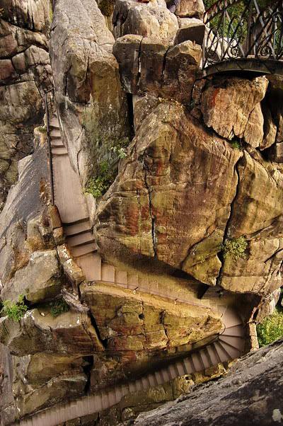 Святилище Экстернштайне - вид сверху