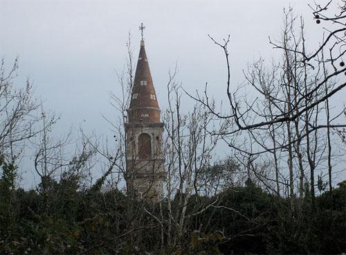 Остров Повеглия - заброшенный маяк