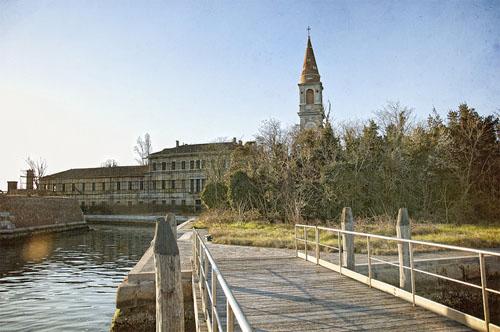Остров-poveglia-октагон, психиатрическая лечебница и старая башня