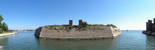 Остров Повеглия - октагон